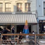 In Brussels parking spaces make way for terraces